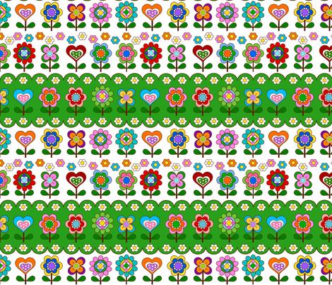 maniac  retro  jump fabric by 257 on Spoonflower - custom fabric