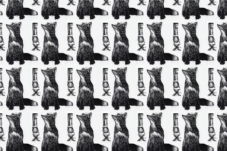 fox2 fabric by nicolacowie on Spoonflower - custom fabric
