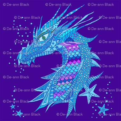 Sea Dream - Ultramarine - Sea Dragon Blue