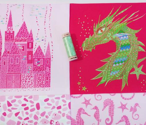 Sea Dream - Pinkmarine - Sea Dragon Green