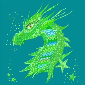 Sea Dream - Greenmarine - Sea Dragon Green