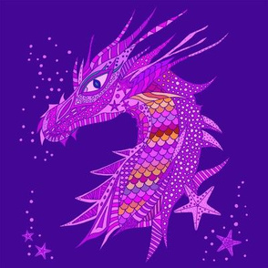 Sea Dream - Ultramarine - Sea Dragon Purple