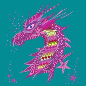 Sea Dream - Pinkmarine - Sea Dragon Pink