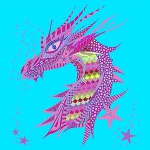 Sea Dream - Aquamarine - Sea Dragon Pink