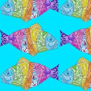 Sea Dream - Aquamarine - Dream Fish Small