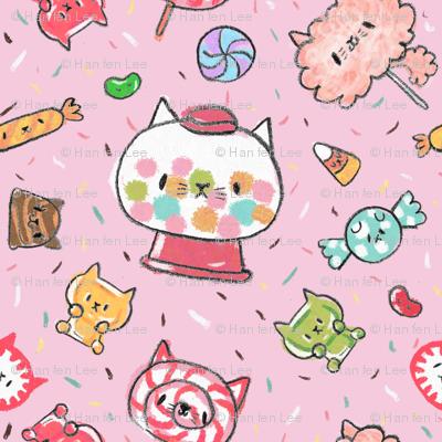 kawaii kitty candy