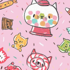 kawaii kitty candy