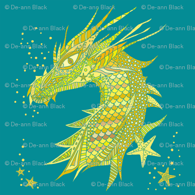 Sea Dream - Goldmarine - Sea Dragon Yellow