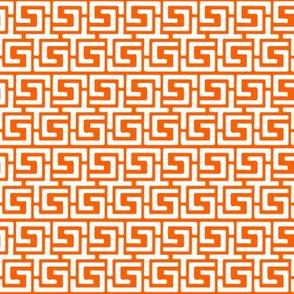 Nemo in white on orange