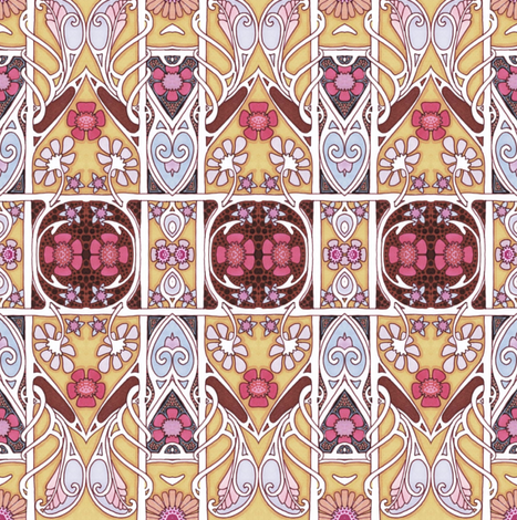 Someday Spring fabric by edsel2084 on Spoonflower - custom fabric