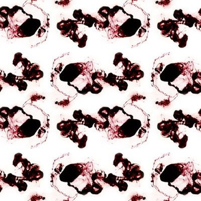 Ink in water seamless pattern