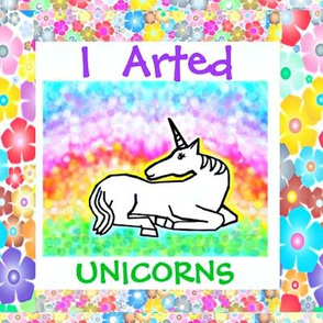 I  Arted Unicorns