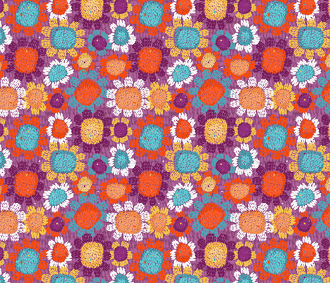 Petallism fabric by mariaspeyer on Spoonflower - custom fabric