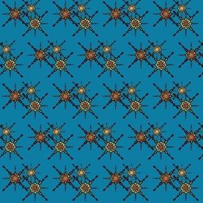 Constellation on Cerulean Blue