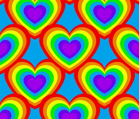 LoveIsLove fabric by abbieuproot on Spoonflower - custom fabric