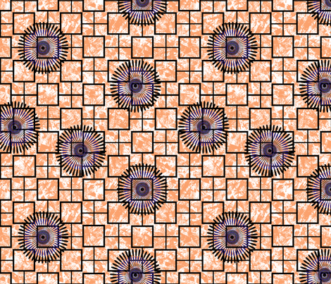 African Inspired Geometric fabric by cultural_clothing on Spoonflower - custom fabric
