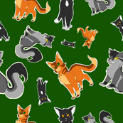 Warrior Cats Pattern