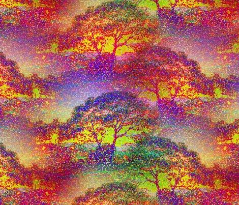 Rrrrrrrrpointillist_sunset_tree_jungle_colors_by_paysmage_shop_preview