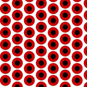 Mod Fabric Red & Black Medium