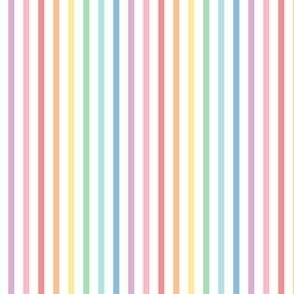 pastel rainbow fun stripes no1 vertical
