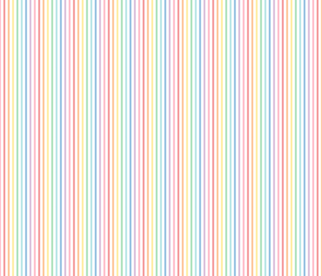 pastel rainbow stripes 1 vertical fabric by misstiina on Spoonflower - custom fabric
