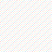 tiny pastel rainbow polkas