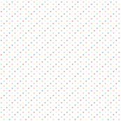 tiny pastel rainbow triangles
