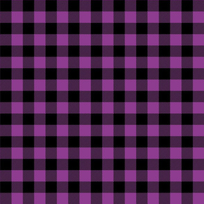 buffalo plaid 1in grape