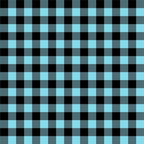 buffalo plaid 1in sky blue