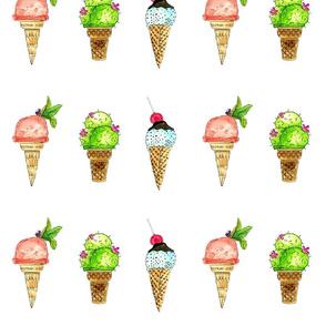 Ice creme  cone