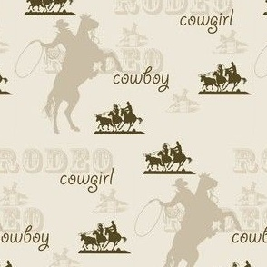 Rodeo Cowboys and Cowgirls