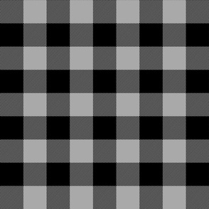 buffalo plaid 2in grey