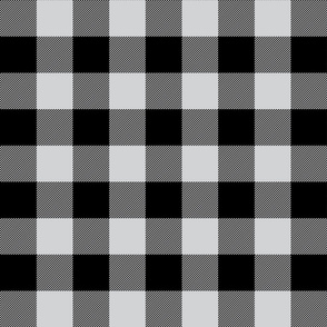 buffalo plaid 2in light grey