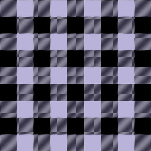 buffalo plaid 2in light purple