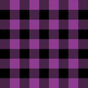 buffalo plaid 2in grape