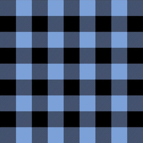 buffalo plaid 2in cornflower blue