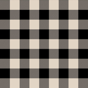 buffalo plaid 2in sand