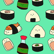 kawaii sushi party