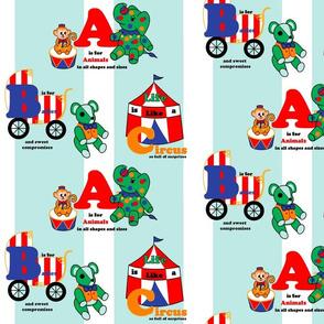 Circus animals ABCs
