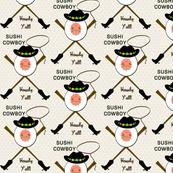Sushi Kawaii Cowboy