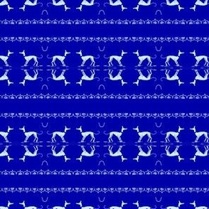 White-whippet/Greyhound-on royalBlue