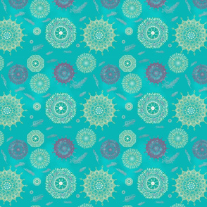 Boho Turquoise Smaller Print