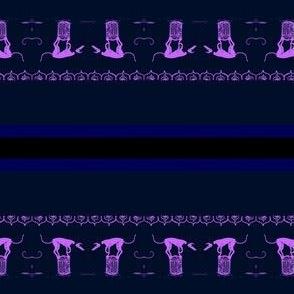 Circus=Hound-LilacOnDeepBlue-ForCollars