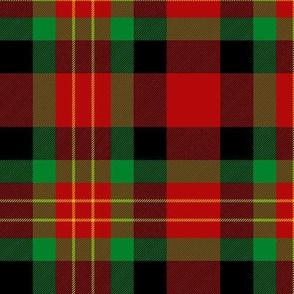 "Sturrock tartan, 6"" black variant"