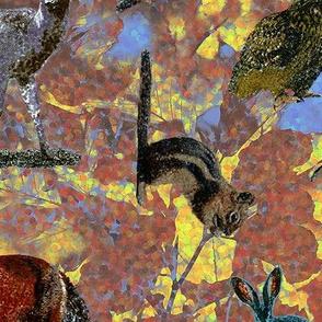 Pointillism Critters