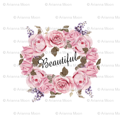 Beautiful- pink florals