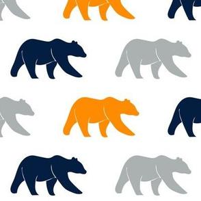 multi bear - navy/grey/orange - the great outdoors