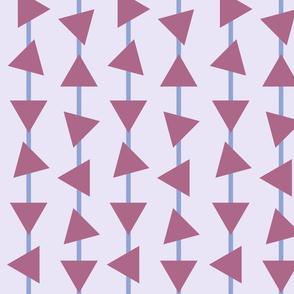 Revolving traingle pattern
