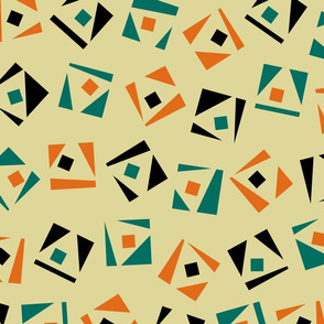 square and triangle pattern
