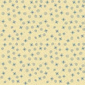 HH - Snowflake Toss on Cream